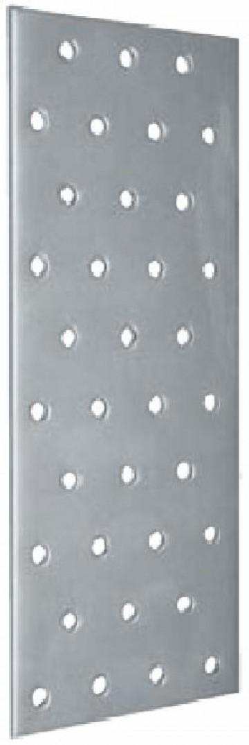 Пластина соед. оцинк. PS 80х40х2,0 мм