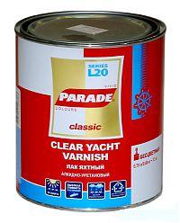 Лак яхтный PARADE алкидно- уретановый п/мат 0,75 л