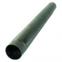Труба-стояк для дымохода ф 130 мм оцинк.