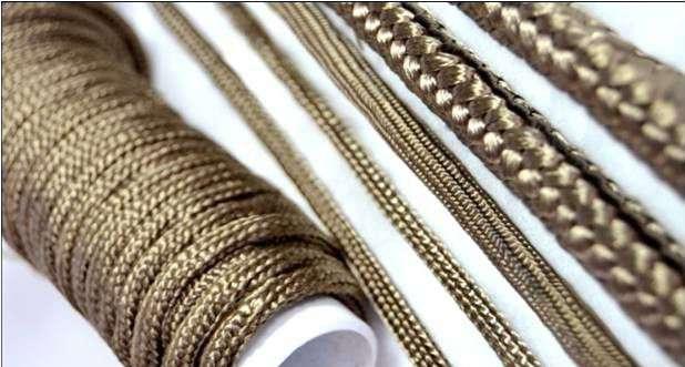 Базальтовый шнур теплоизоляционный 10мм