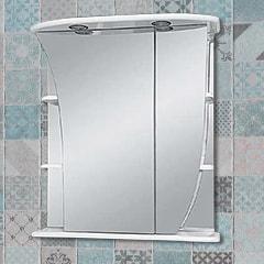 Зеркало Ладья 65 см левое свет