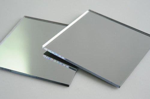 Зеркало 4мм серебро (1 лист - 2550х1605 мм)