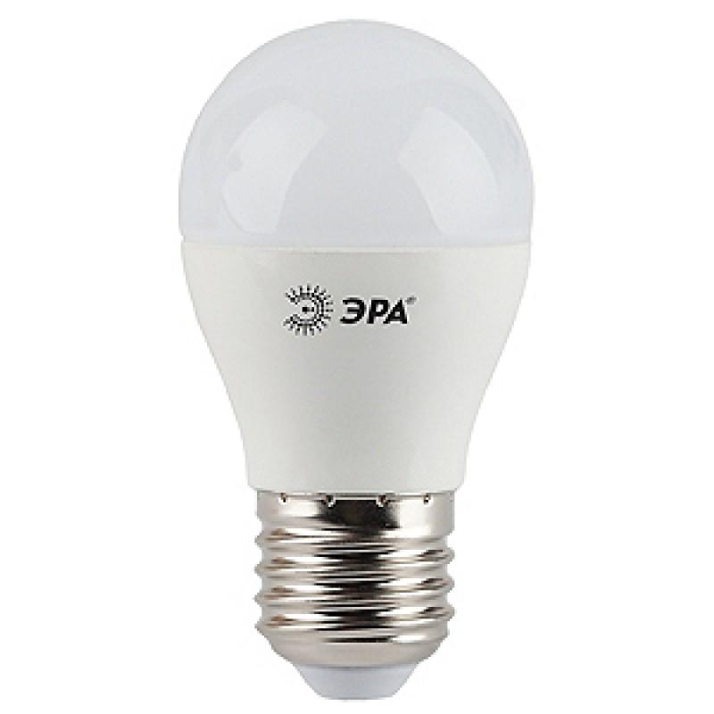 Лампа светод-ая ЭРА Р45-9w-4200-E27
