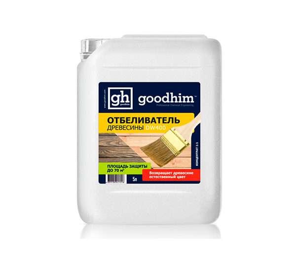Отбеливатель для древесины ГудХим DW400 10л концентрат 1:1