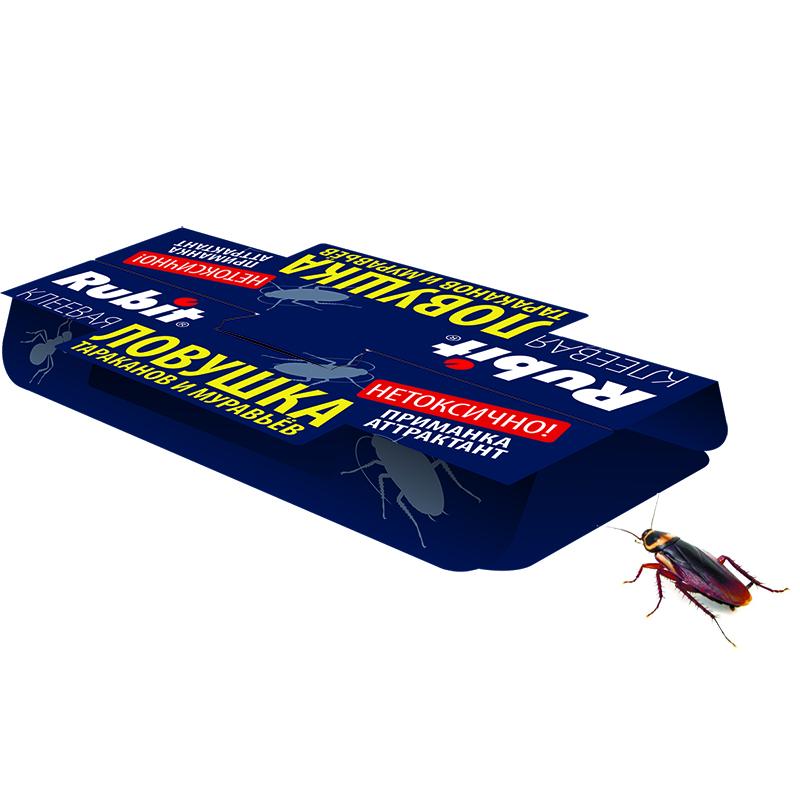 "Ловушка клеевая ""Рубит""от тараканов."