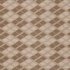 Коврик Tango 130 см Геометрия коричневая
