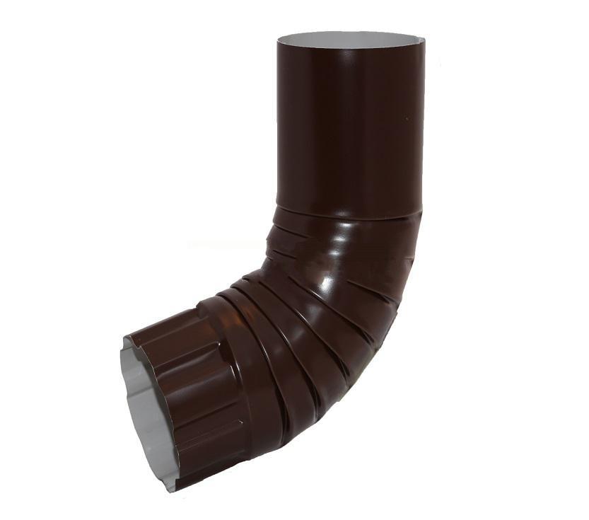 Колено универсальное 90/125 коричневое