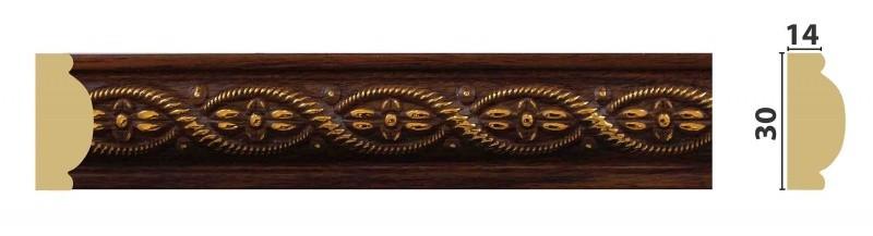 Молдинг полистирол Ватикан ПИ30В 30х14х2,4м