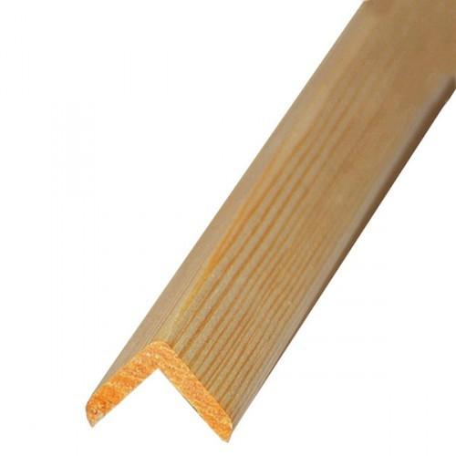 Уголок деревянный 20*20*3000 мм гладкий