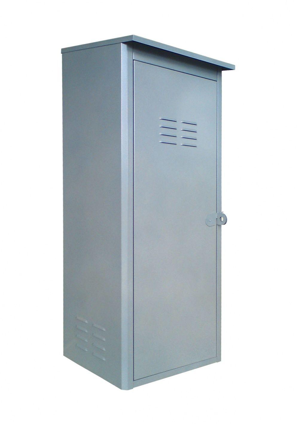 Шкаф для 1 газового баллона сборный 50л