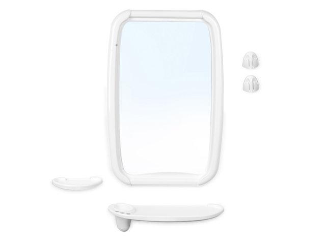 Набор для ванной Оптима белый