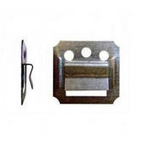Кляймер 1.0 мм для панелей ПВХ (100шт)