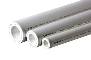 П-Труба PN-25 ф20 по 4м бел внутриарм. алюминием толщина стенки – 3,4 мм (уп.30шт, 120м)