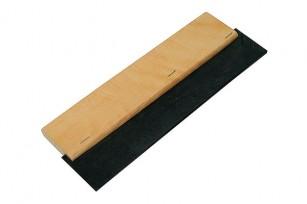 Шпатель резиновый д/швов 200 мм деревянная ручка