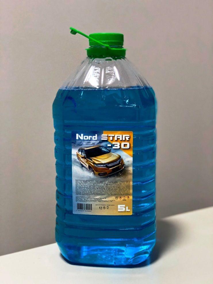 Авто жидкость Nord Star -10* 5л