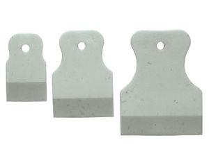Набор шпателей резиновых 40/60/80мм 3шт белые,черные