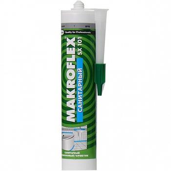 Герметик Makroflex силикон санитарный серый 290мл