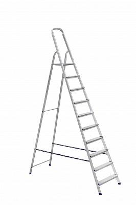 Стремянка алюмин. 10 ступ. (2,90 м)