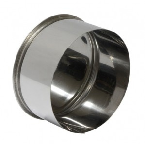 Заглушка ф 120 мм н/ж 0,5мм внутреняя