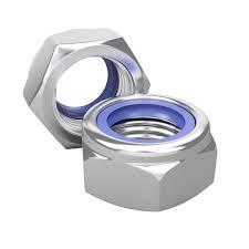 Гайка самоконтрящ. М8 мм с нейлоновым кольцом (4 шт)