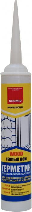 Герметик NEOMID строительный д/дерева сосна 310мл