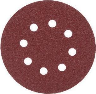 Круг абразивный перф.ф125 Р100 (5шт) FIT
