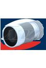Удлинитель гибкий К828R для унитаза 231-500 мм усил.с выпуском 110 мм