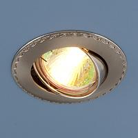 Светильник точ - 635 SNN сатин никель/никель