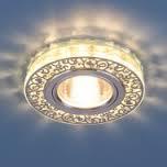 Светильник точ - 6034 GD/CL золото/прозрачный