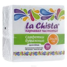 Салфетки La Chista 100 шт