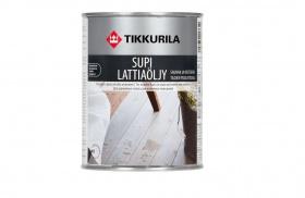 Масло для полов саун СУПИ LATTIAOOLJU 0,9л Тиккурила
