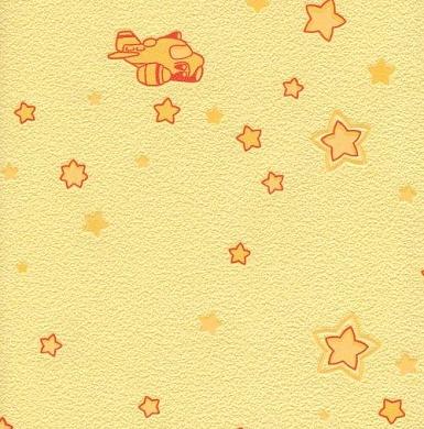 3300-35 ОБОИ 1,06*10 м флиз Звезды свет.