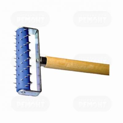 Валик игольчатый д/гипсокартона с ручкой 15х50см