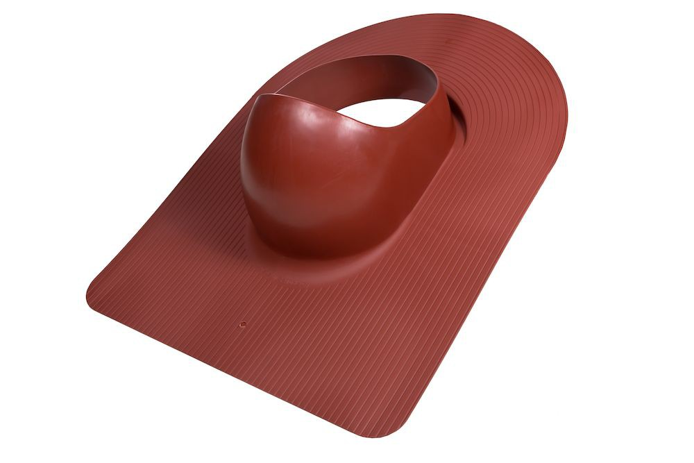 Проходной элемент Vilpe HUOPA ф110/160 красный