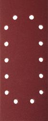 Лист шлифовальный универсальный 115*280мм Р60 14 отверстий по периметру