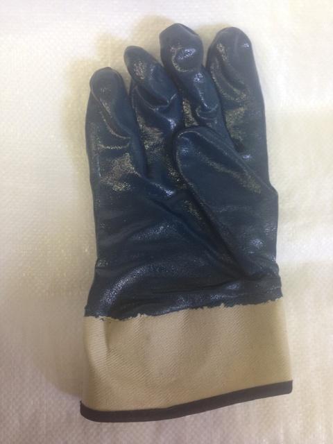 Перчатки с нитриловым покрытием обл. крага