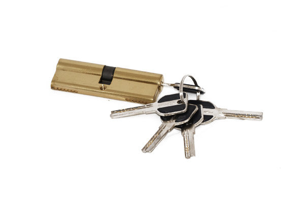 Цилиндр для замка Bison Premium(A26-6)70мм 30/40 мат.золото
