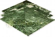 Плитка натуральная из камня Змеевик 300х300х10мм