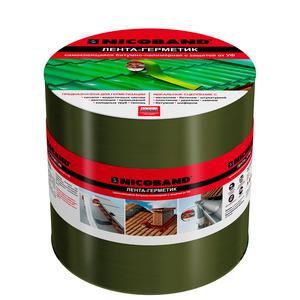 Лента кровельная NICOBAND 3мх10см зелёный