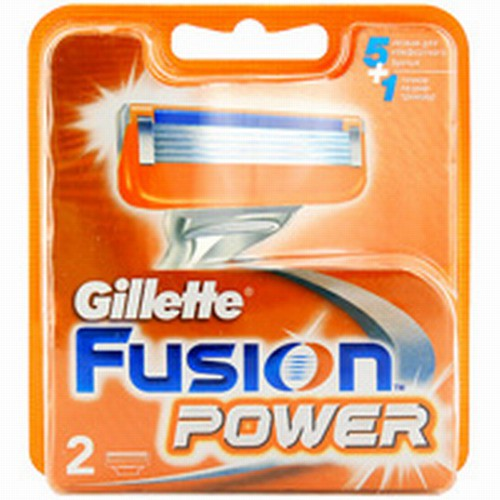 Кассеты Gillette Fusion power 2шт