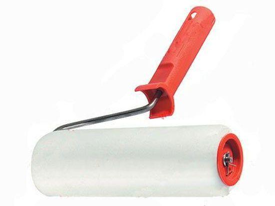 Валик с ручкой 200/40мм ф6мм поролон