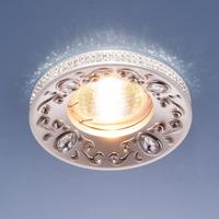 Светильник точ - 120065 PS/Nперл.серебро/никель