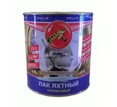 Лак яхтный Поли-р полуматовый 2,5 л