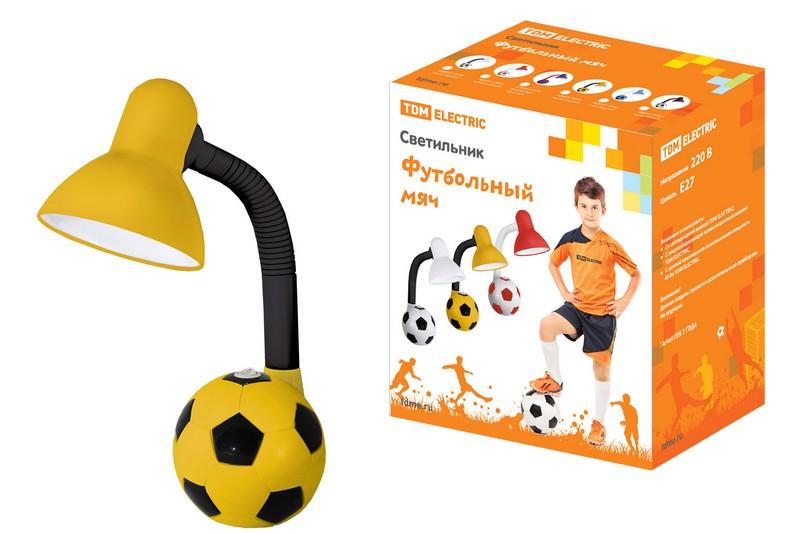 Светильник настольн.Футбольный мяч ,желто-черный,SQ0337-0051
