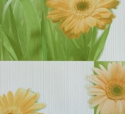 96701 ОБОИ 0,53*10 м  винил  Герберы цветы