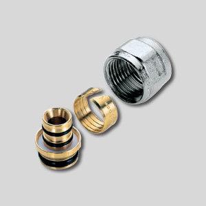 """Фитинг для пластик. трубы 16х2,0 мм, 3/4"""" EK"""