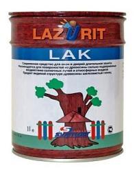 Лазурит Лак пропитка для дерева №02 бесцветная 1л