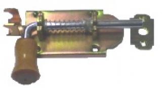 Засов с пружиной 75мм  (9/591)