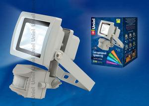 Прожектор светод-ный с датчиком движения S21-10W/WW IP54