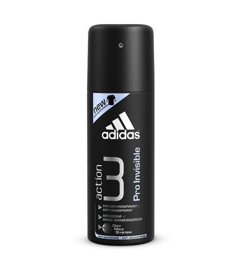 Дезодорант-спрей Adidas Про Инвиз 150мл (125р.)